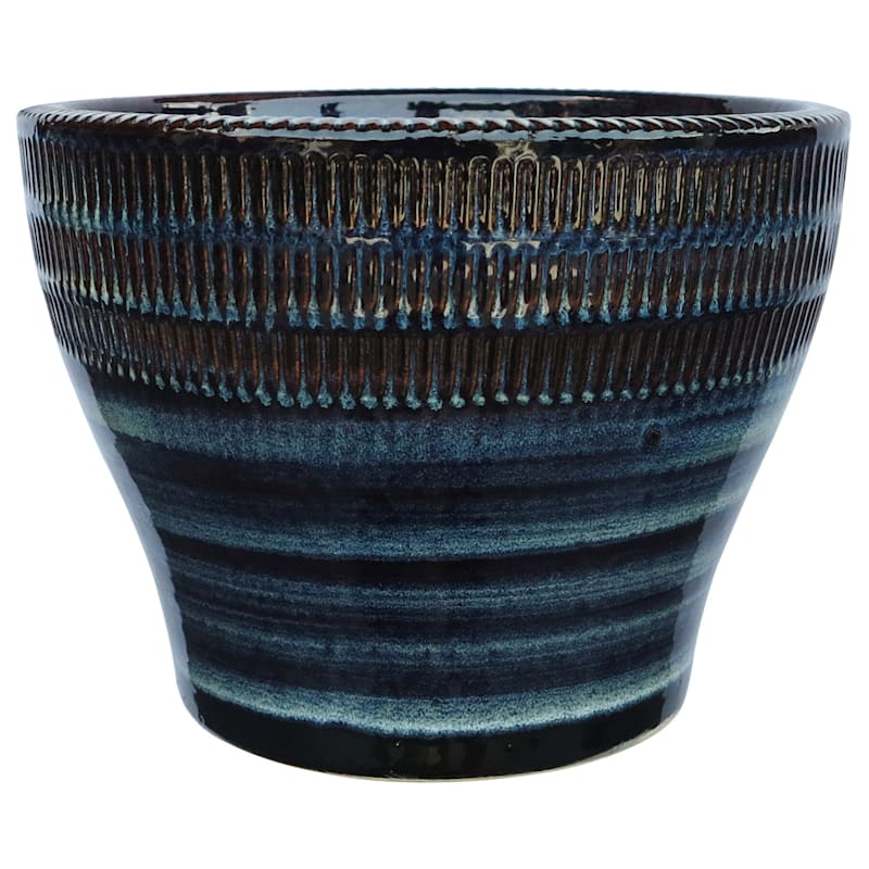 18in Bamboo Bowl N.BROWN