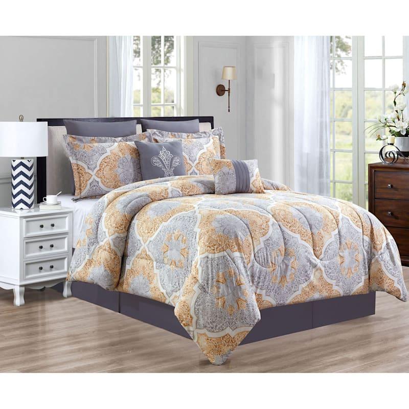 8-Piece Chateu Comforter Set King