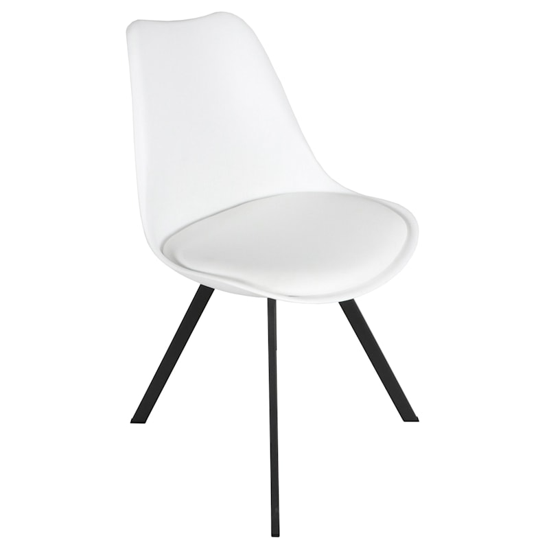 Sally White Dining Chair