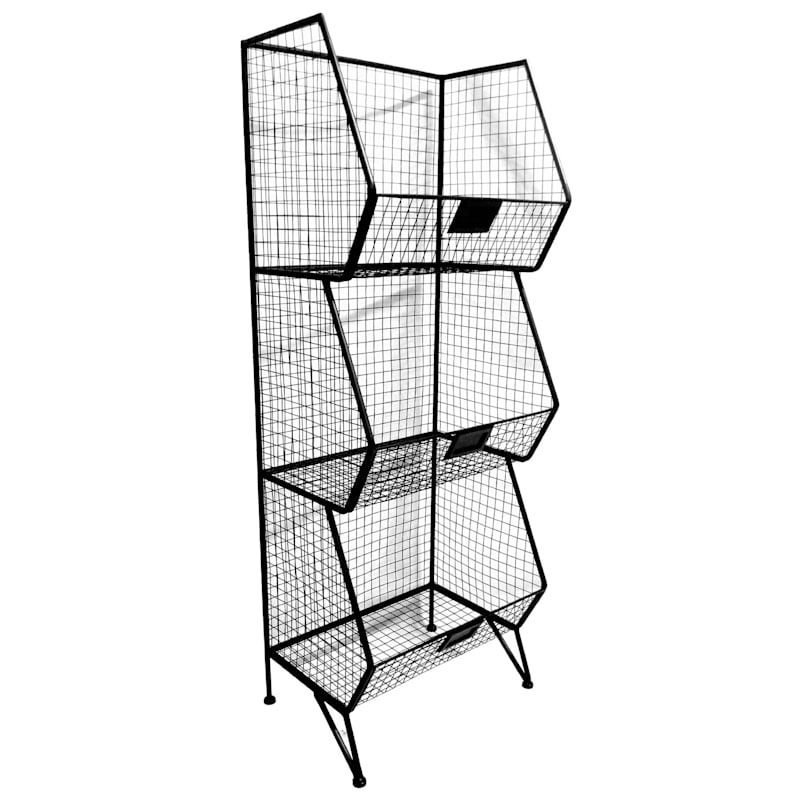 3 Tier Mesh Shelf