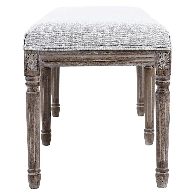 Heritage Bench, Light Grey