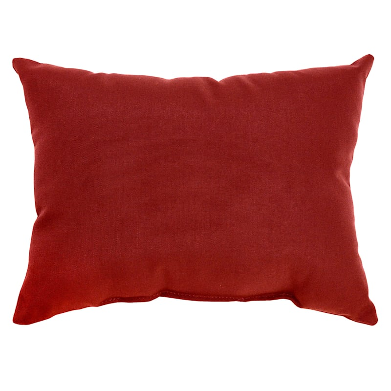 Brick Canvas Outdoor Oblong Pillow, 12x16