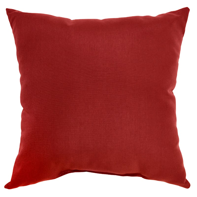 Brick Canvas Outdoor Square Pillow, 20""