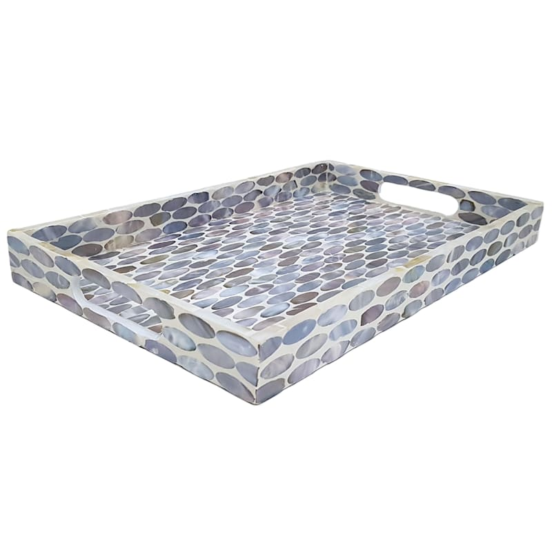 16x10 Oval D Cor Tray At Home