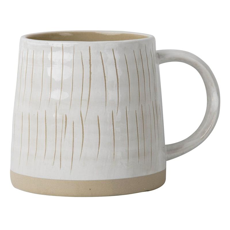 Striped Textured Mug