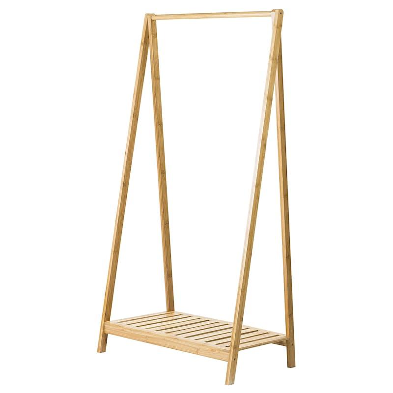 "Bamboo Clothes Rack, 48"""