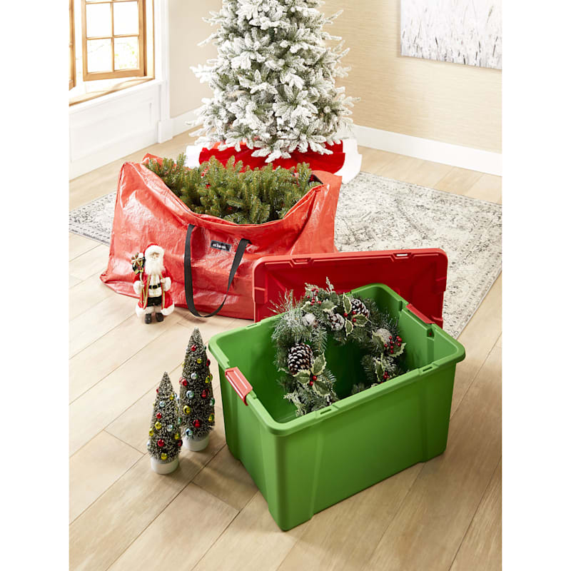 27-Gallon Christmas Storage Tote