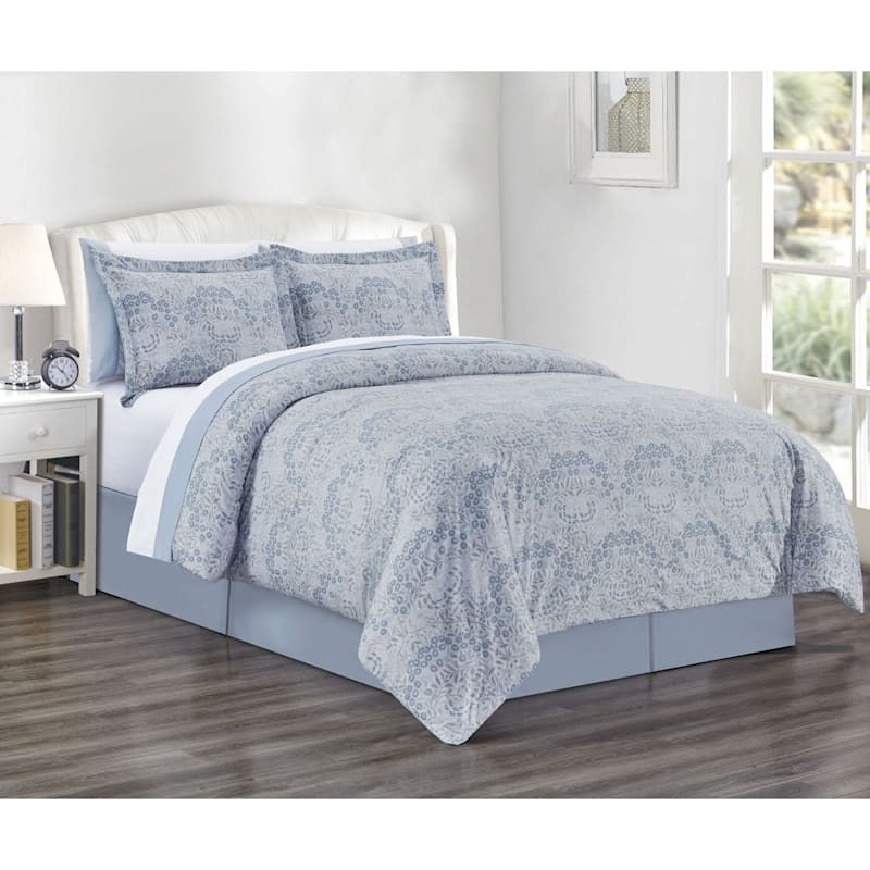 STARLA 6PC TWIN COMFORTER SET