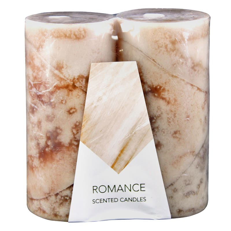 3X6 2-Pack Pillar Candles