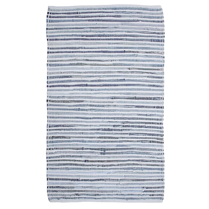 Denim Chindi Stripe, 2x4