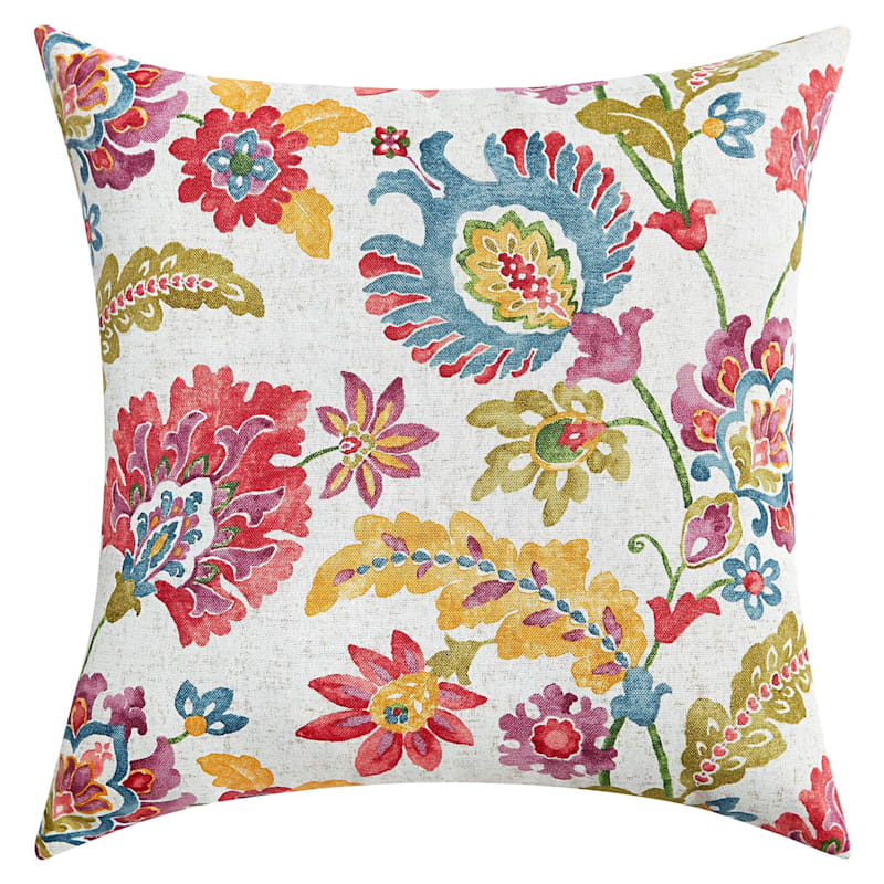 Folk Dance Multi Outdoor Square Pillow, 16""