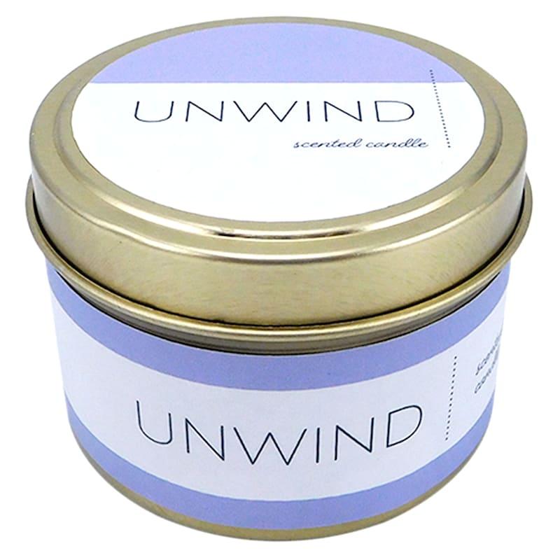 3oz Unwind Candle Tin