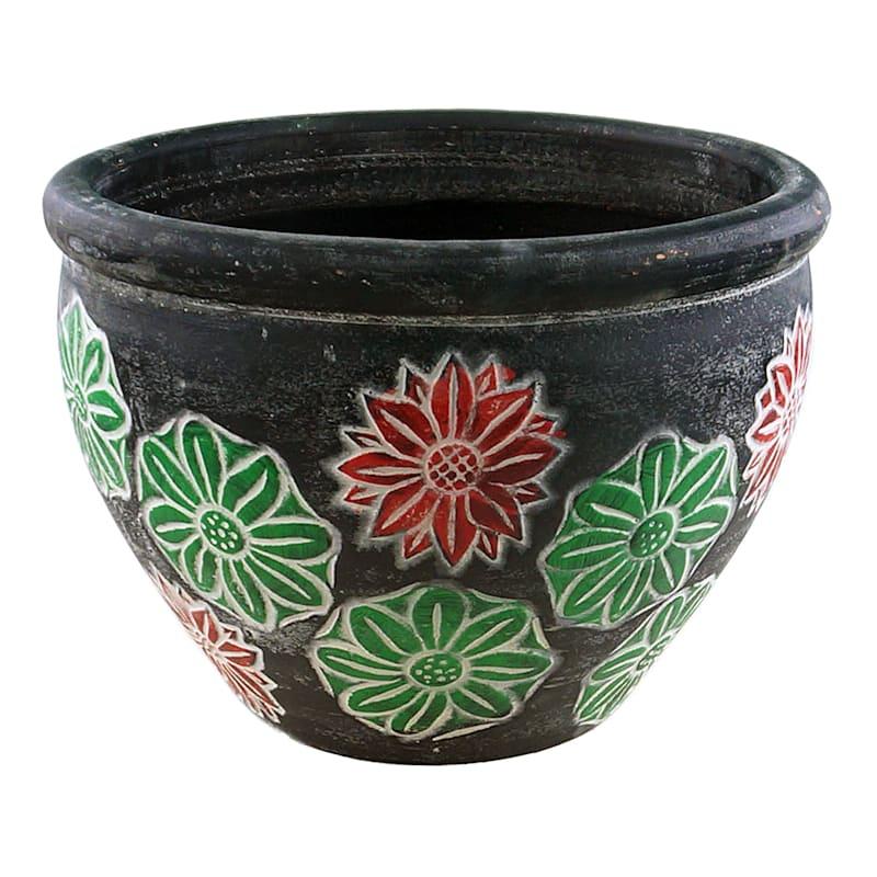 Lotus Clay Planter