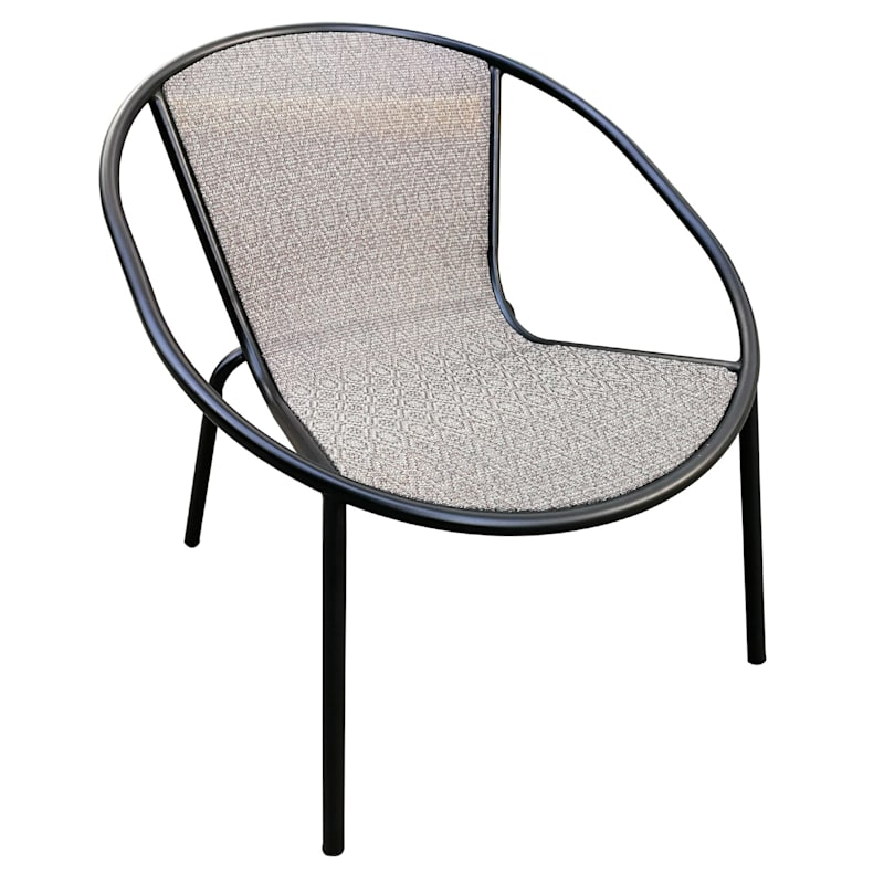 Round Sling Chair, Tan