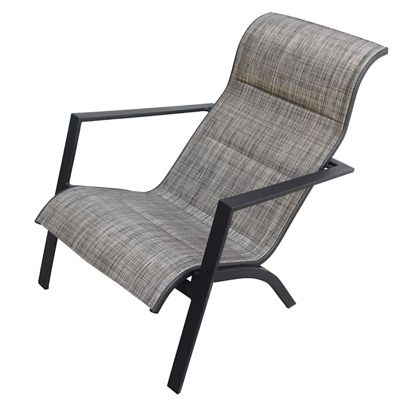 Knox Outdoor Padded Sling Chair
