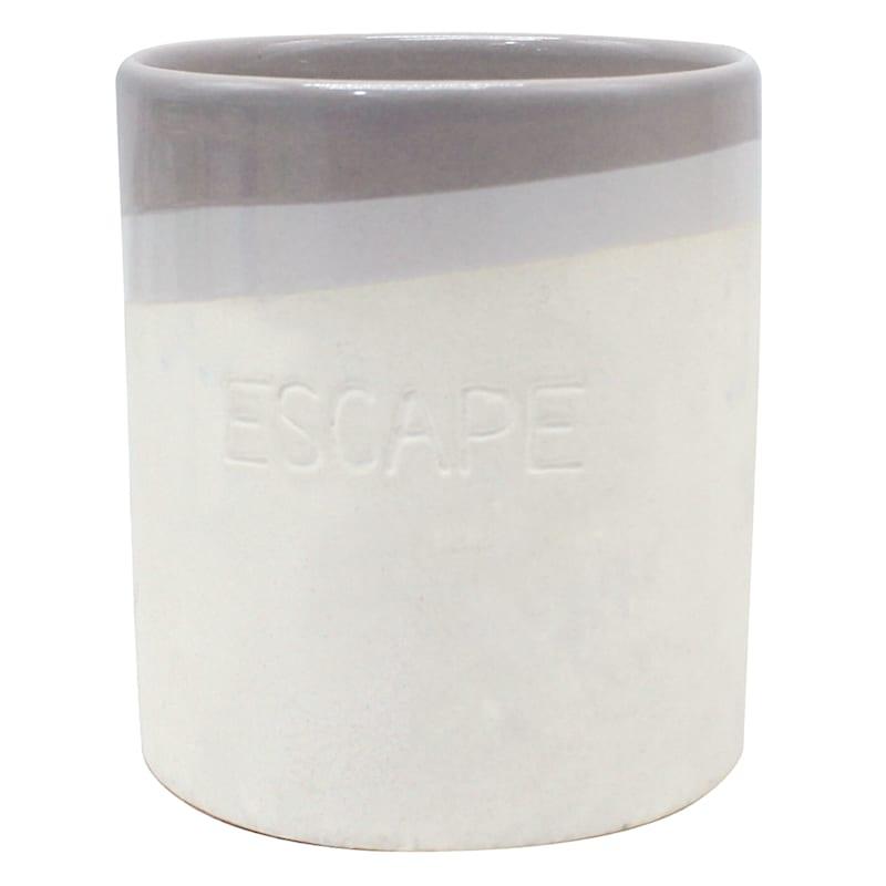 Escape 9.8oz Ceramic Jar Candle