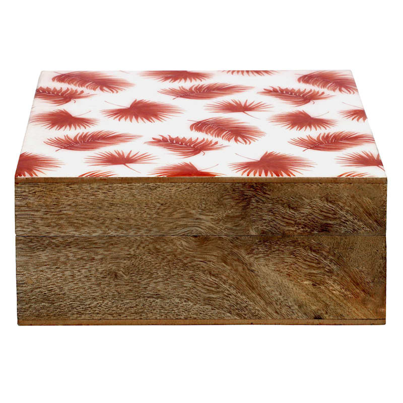 TULUM DECAL MULTI LEAF BOX