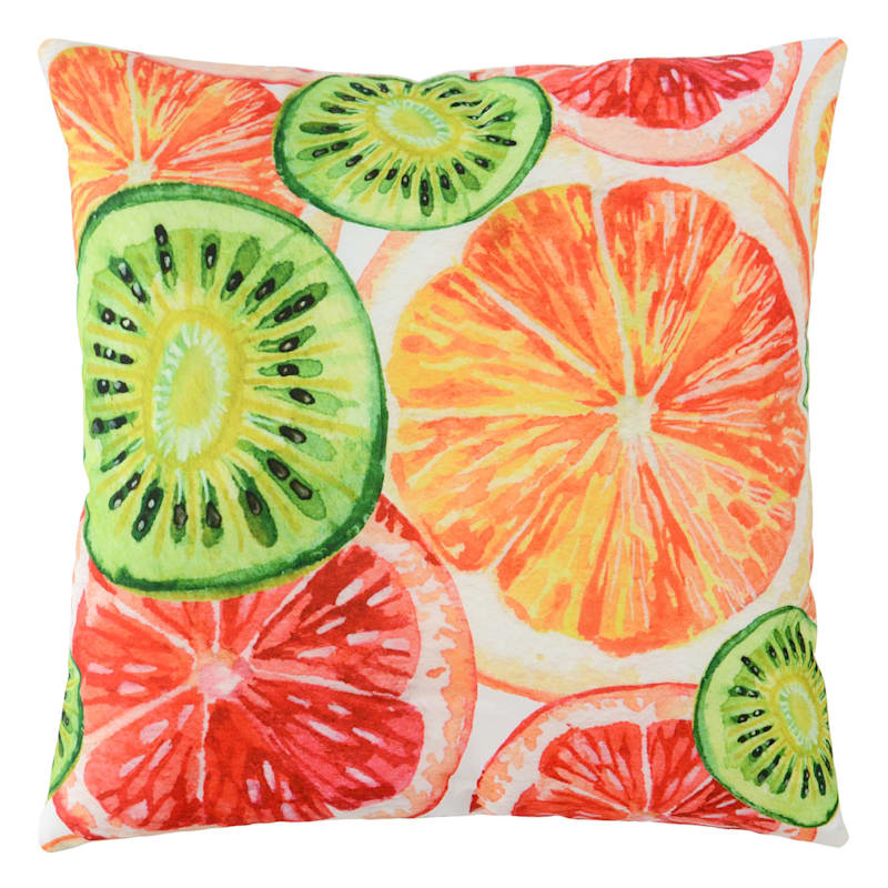 Outdoor Pillow- Citrus Slices