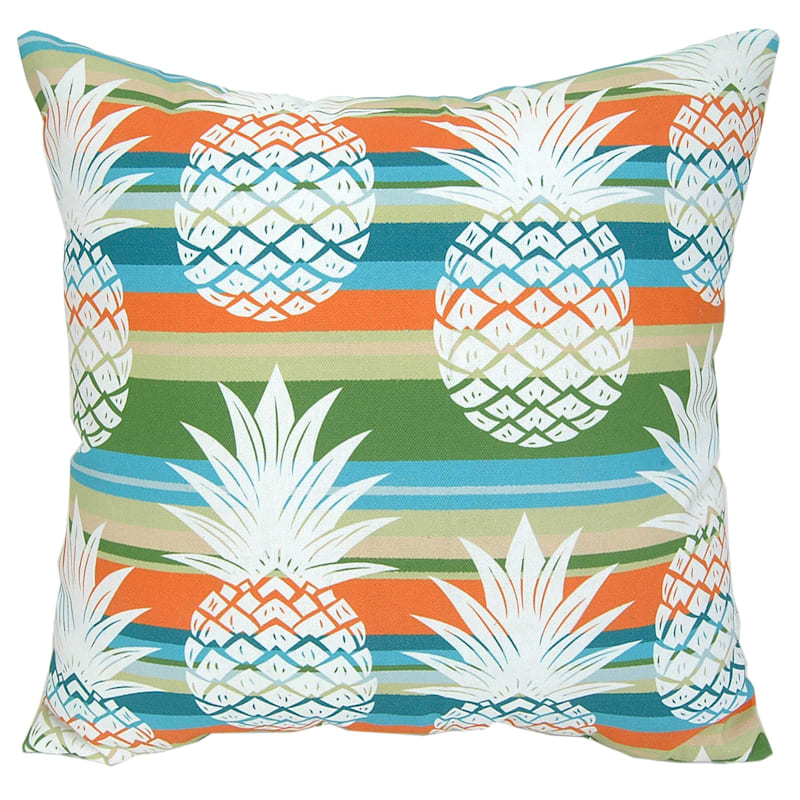 Outdoor Pillow - Vintage Pineapples