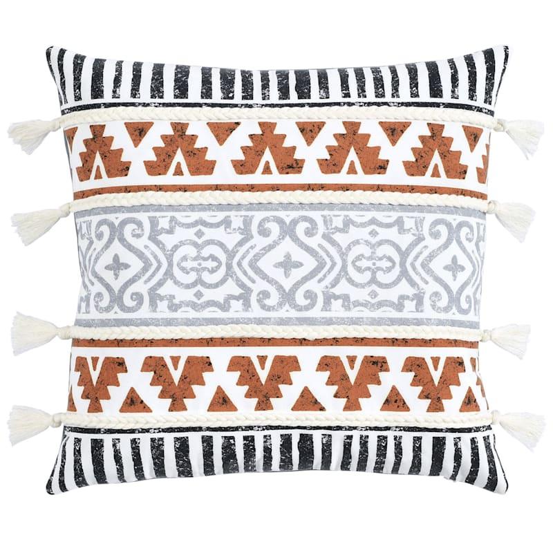 Black/Gold Outdoor Pillow - Shailene