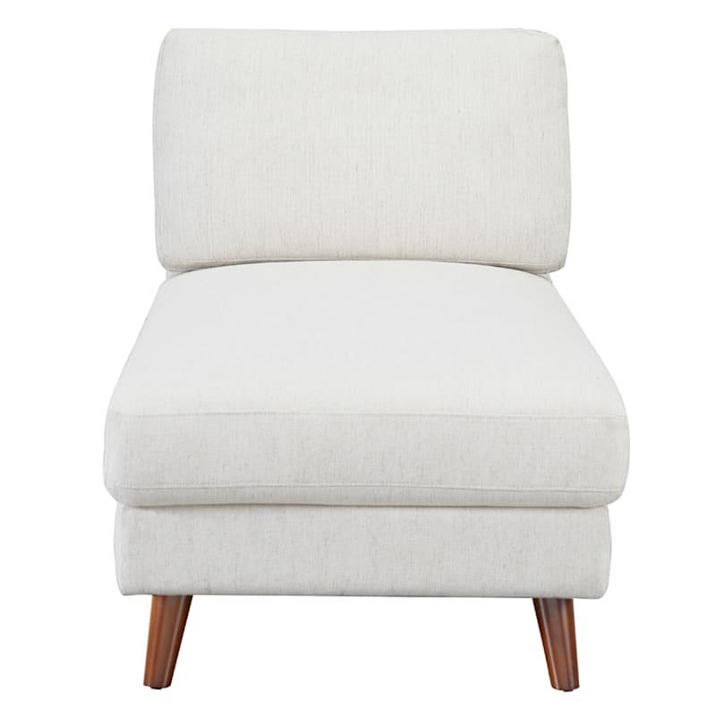 Barton Modern Armless Chaise Lounge