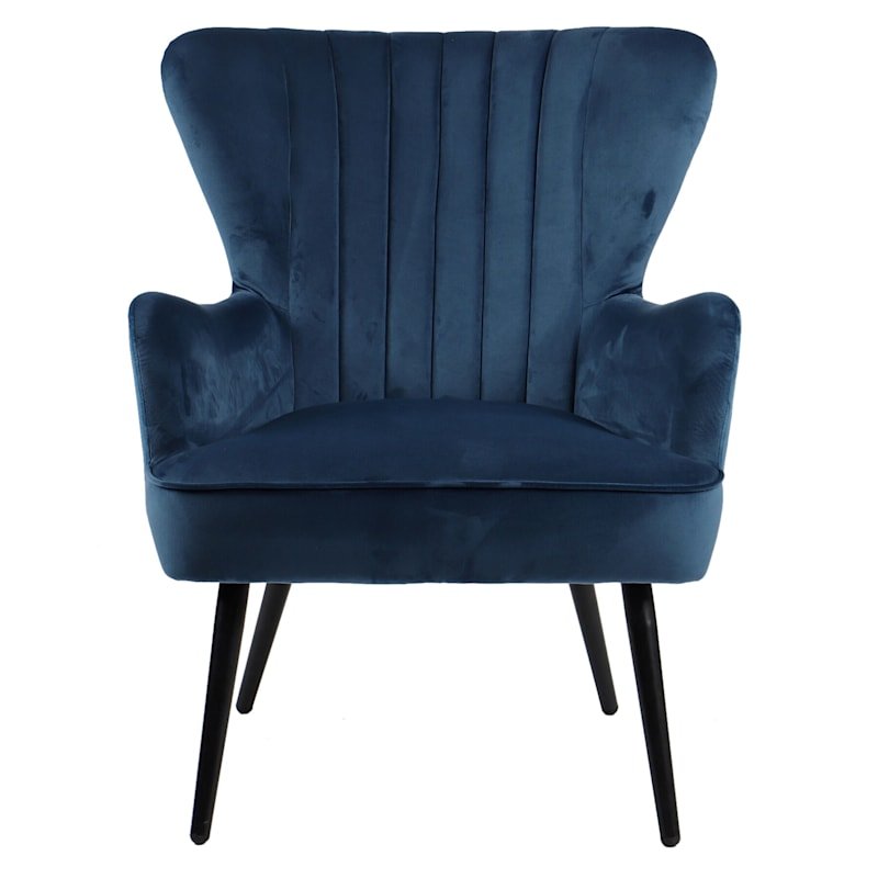 KELSEY VELVET ACCENT CHAIR