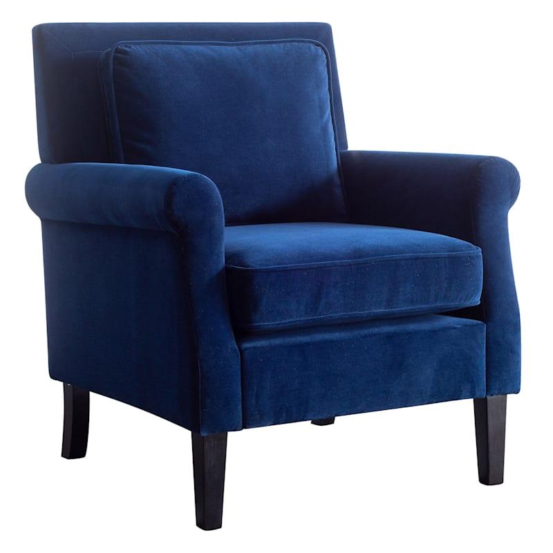 Tegan Blue Accent Chair