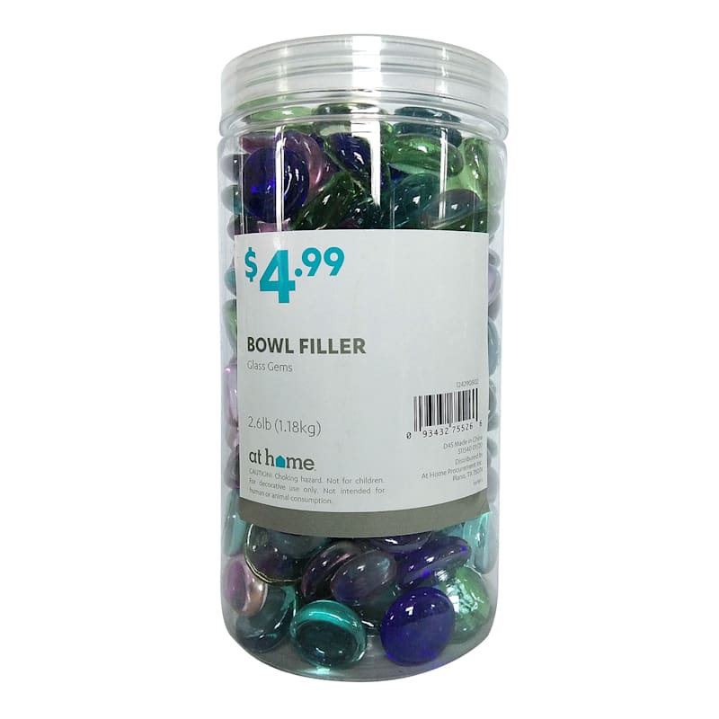 42oz Multicolor Glass Gem Filler