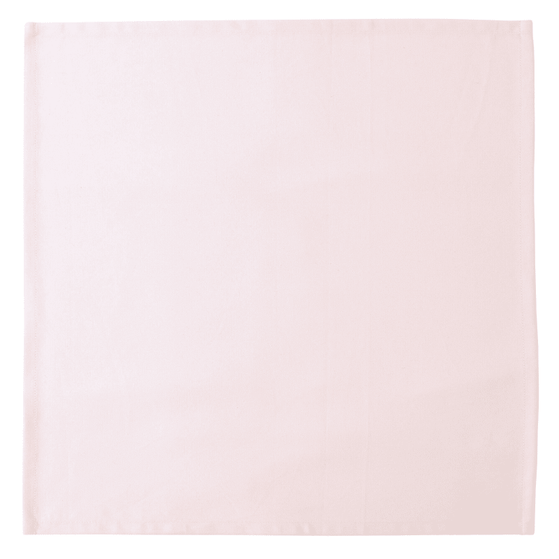 Cotton Twill Napkin Set Of 8 Pink