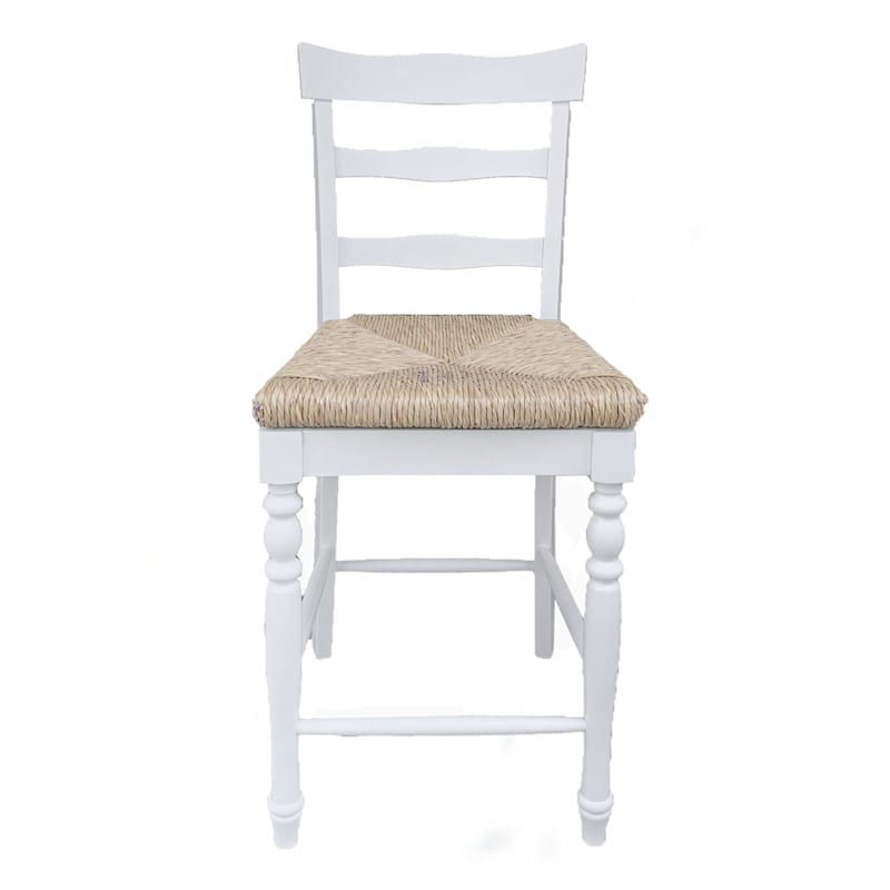 Tobi Natural Woven Seat Counter Stool