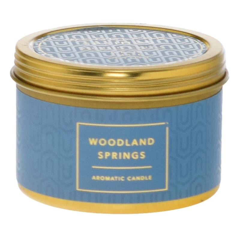 4oz Woodland Springs Tin At Home