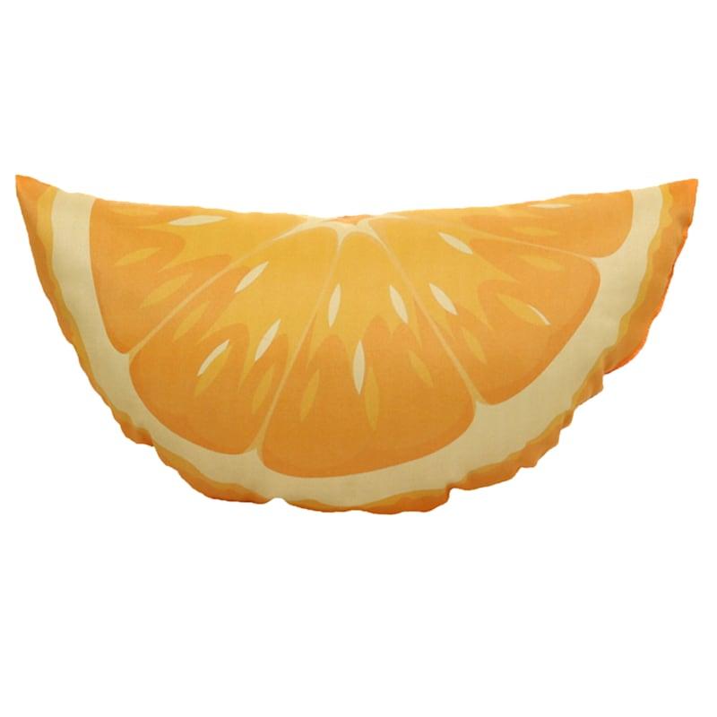 Orange Slice Outdoor Pillow