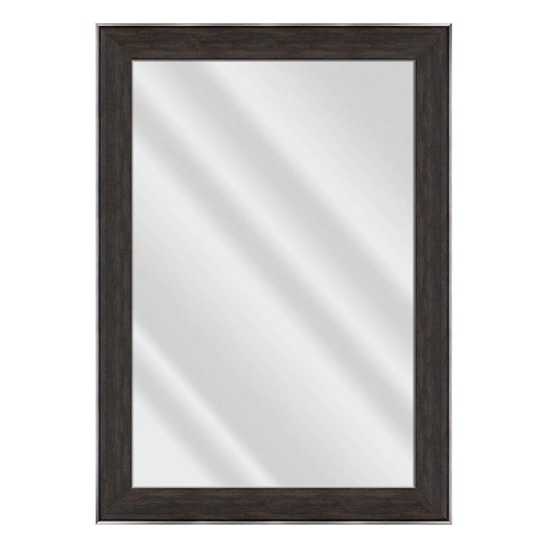 31x43 Janet Black Brown Mirror