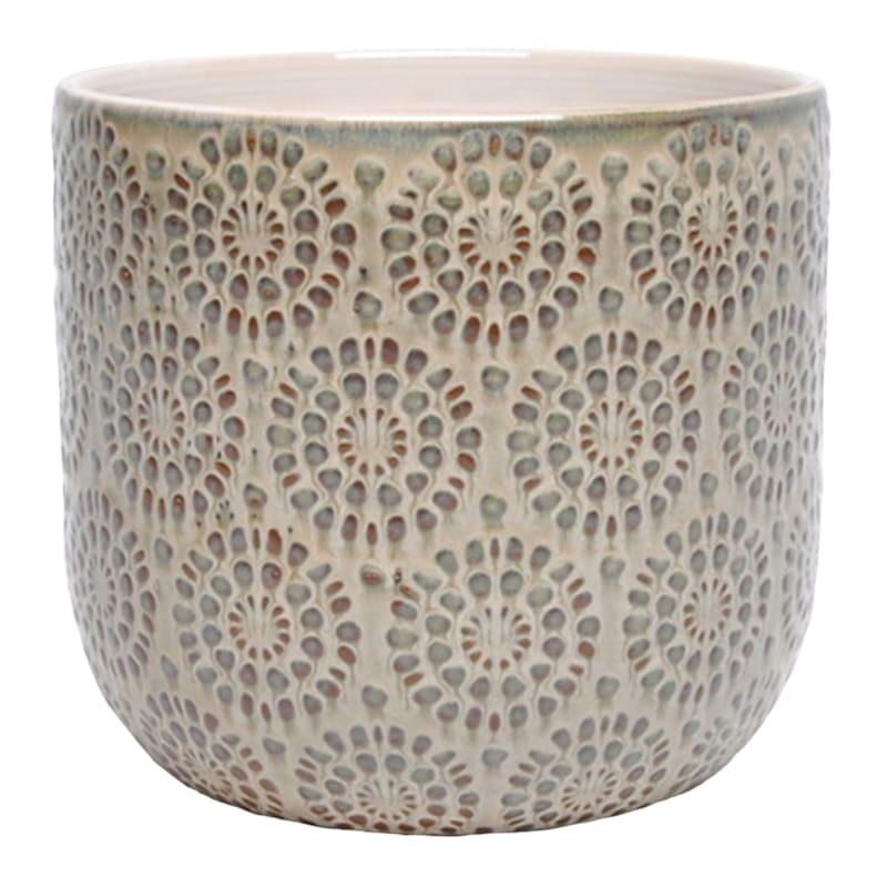 Rocco 8.1in. Indoor Ceramic Planter