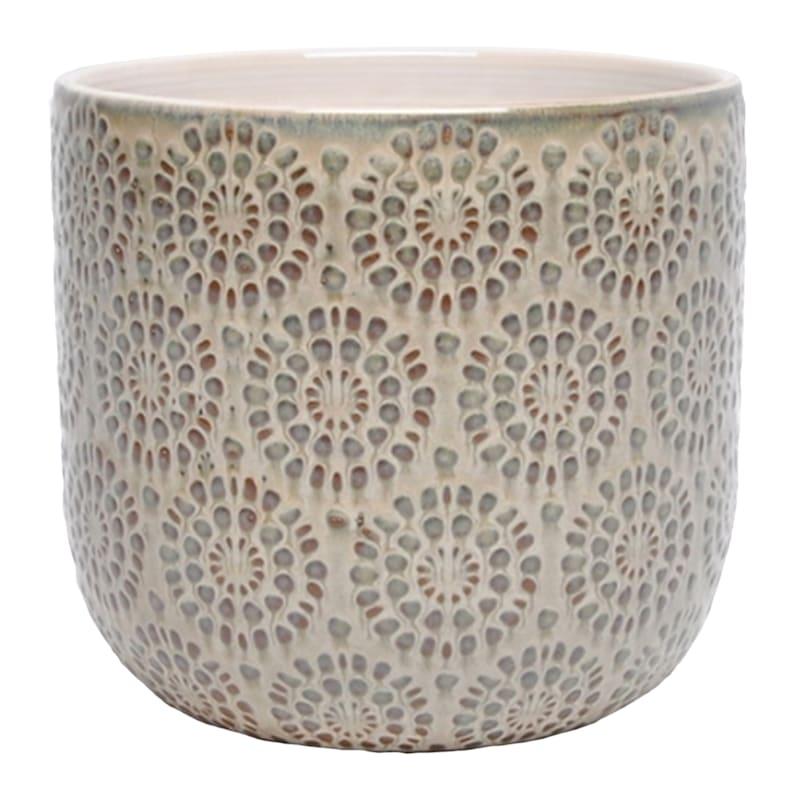 Rocco 6.4in. Indoor Ceramic Planter