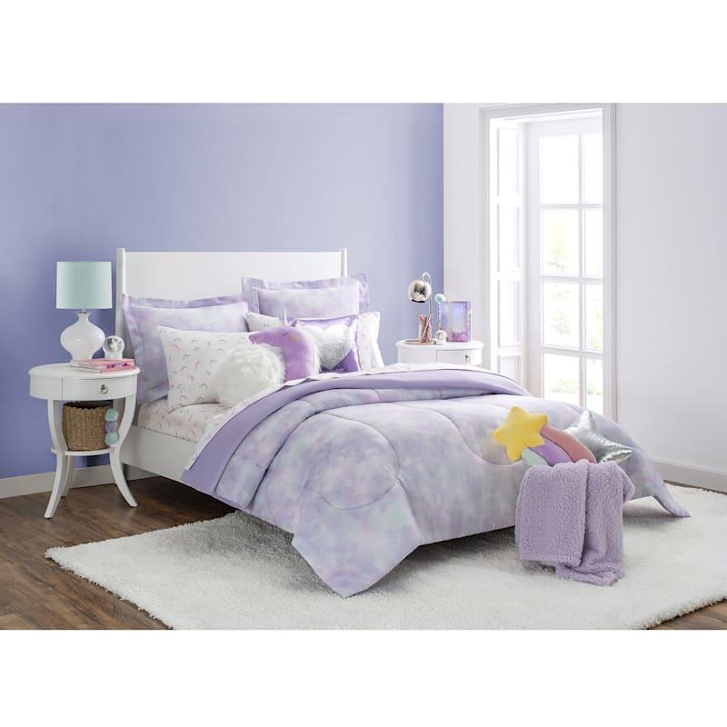 Purple Unicorn Plush Pillow
