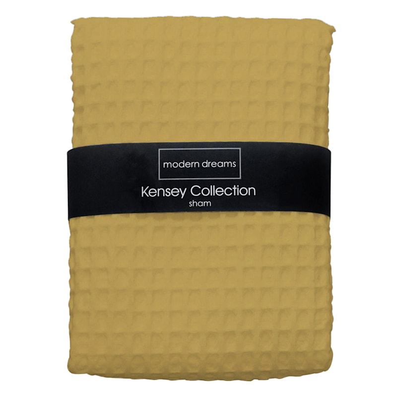 Kinsey Yellow Quilt Sham King