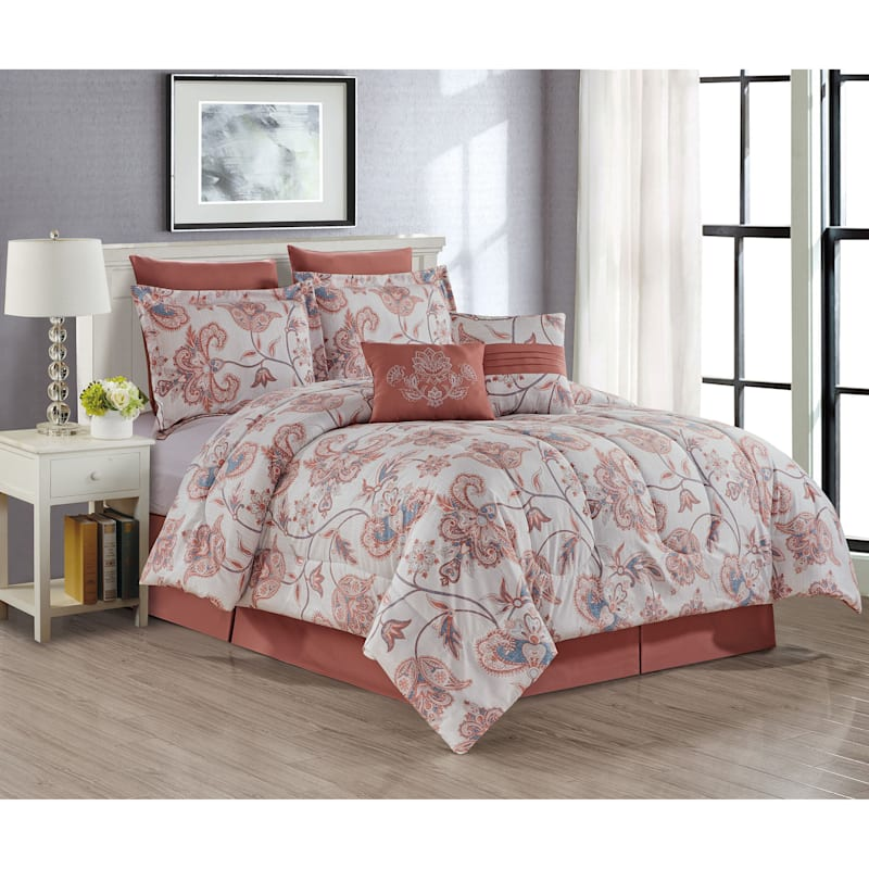 KINSLEY 8PC PRINT SET KING