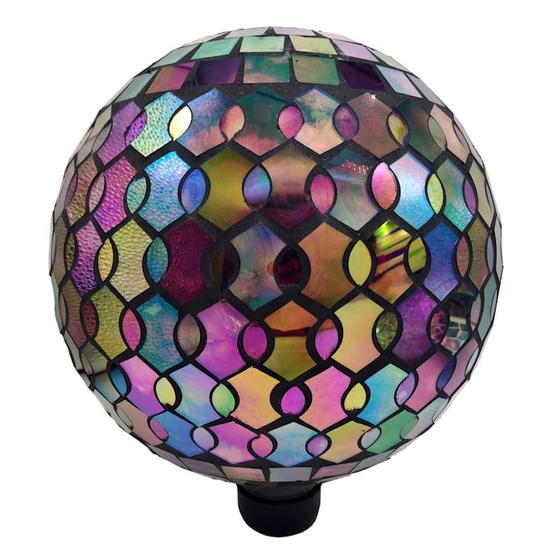 Mosaic Luster Gazing Ball