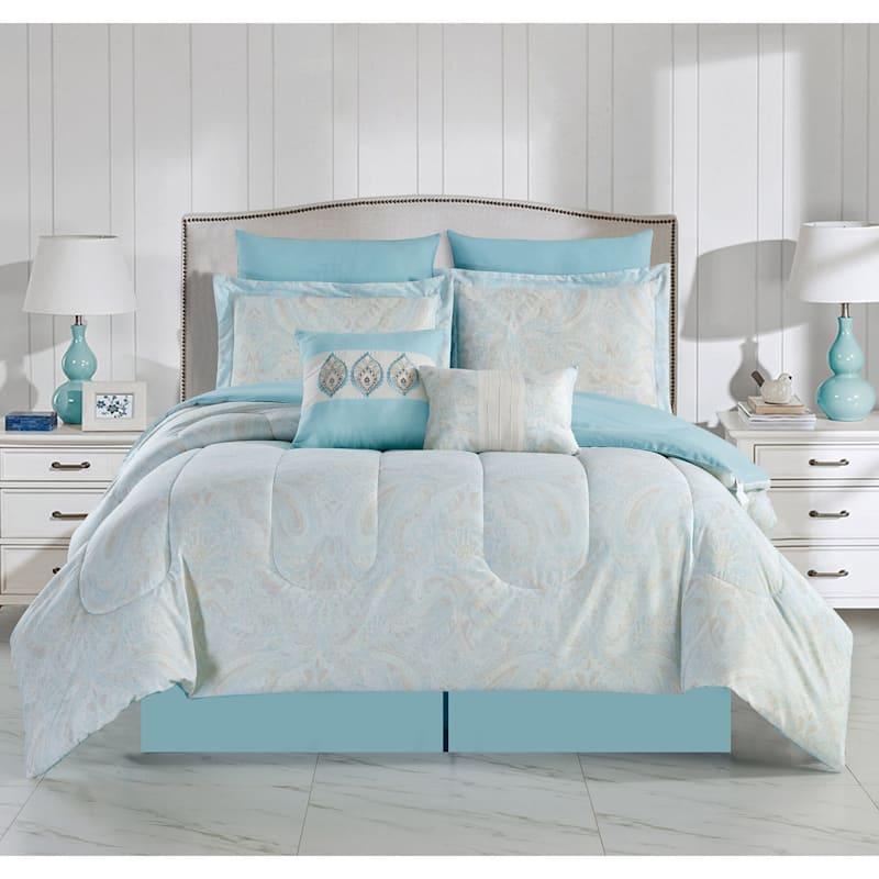 Branford 8-Piece Comforter Set Queen