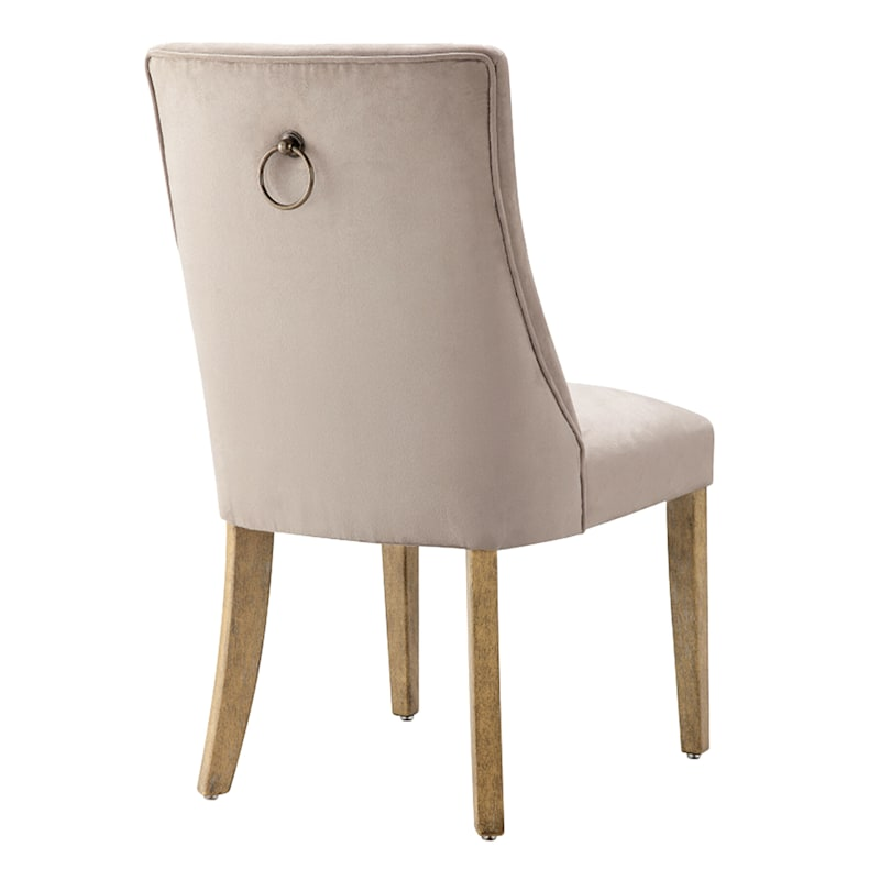 Kris Upholstered Ring Back Dining Chair