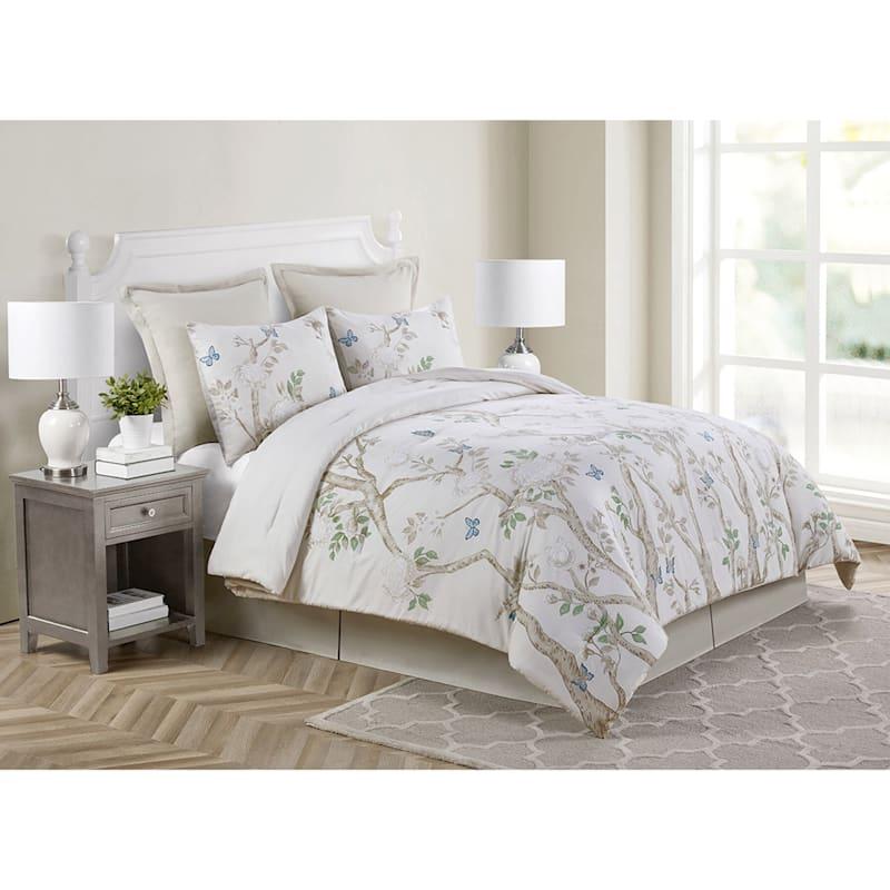 Grace Mitchell Jade Garden 6-Piece Full/Queen Comforter Set