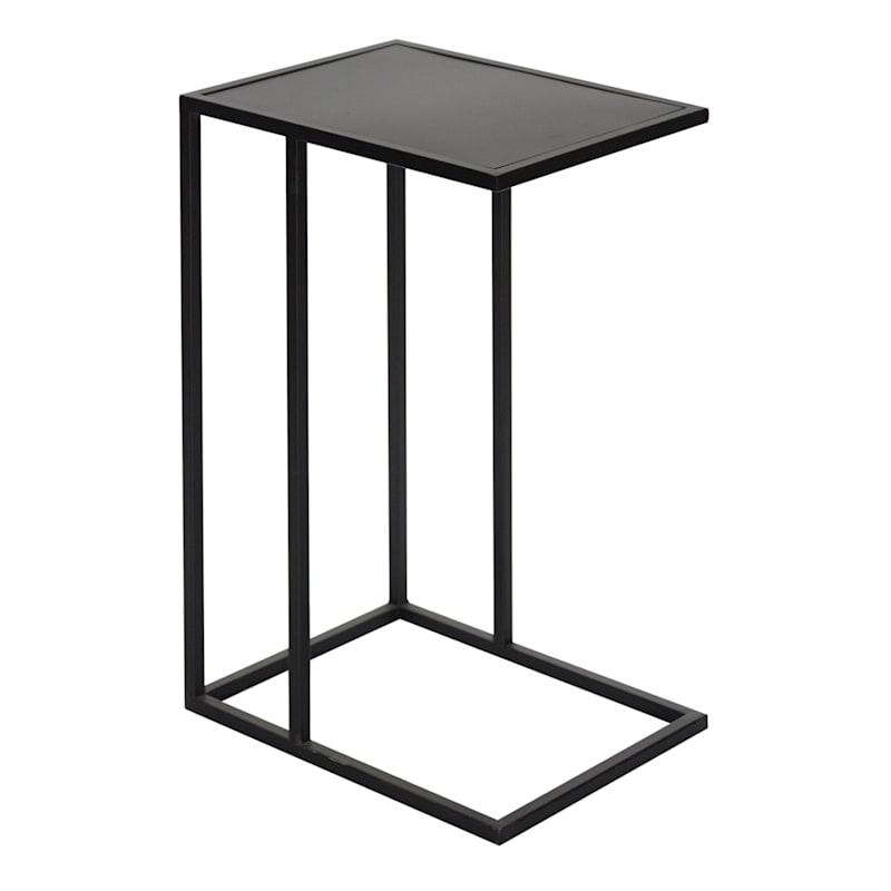 Metal C Table Black