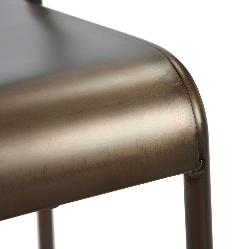 Nova Copper Metal Dining Chair