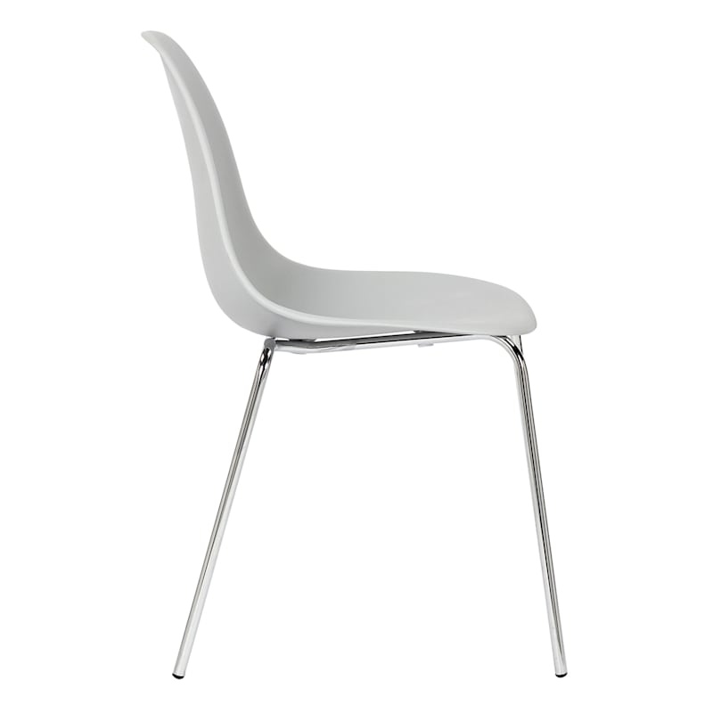 Lily Dining Chair, Grey