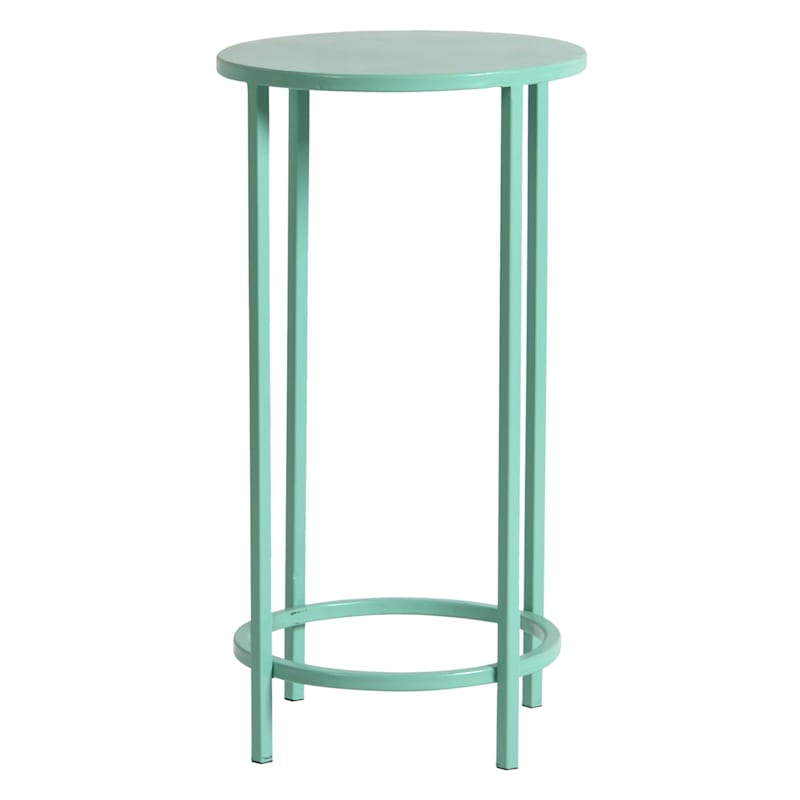Pastel Metal Round Plant Stand, Large