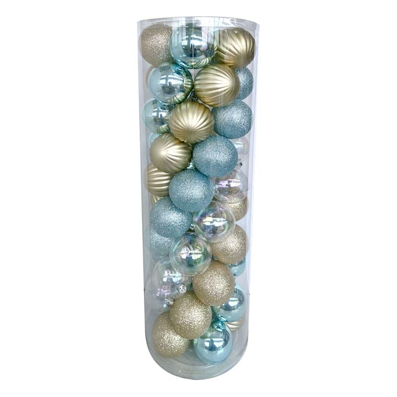 50-Count Seas & Greetings Shatterproof Ornaments