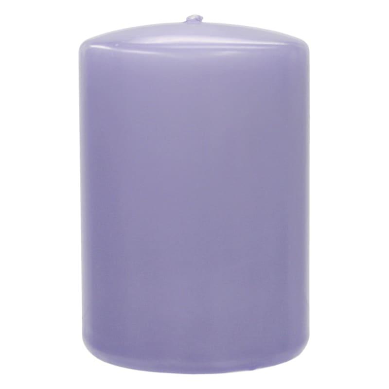 2.8X4 Overdip Pillar Candle Purple