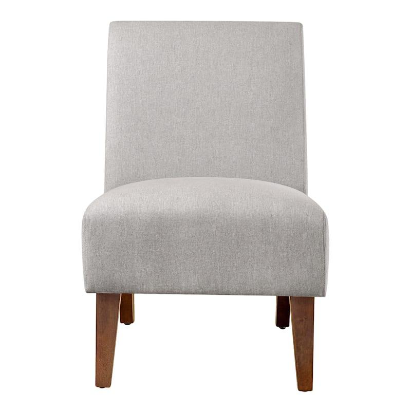 Mya Tan Linen Slipper Chair