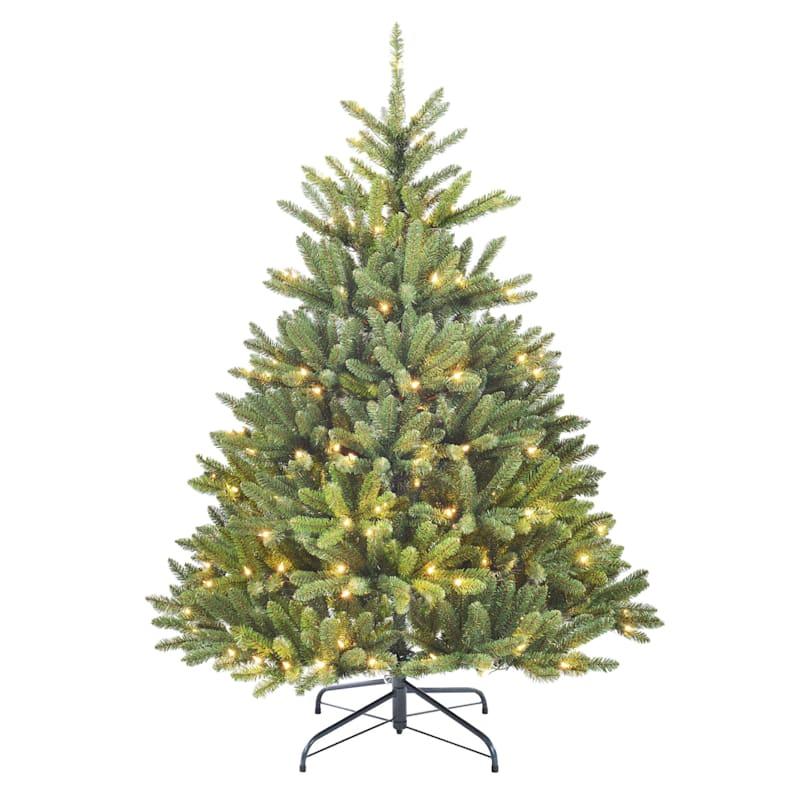 (C17) 5' Pre-Lit Fraser Fir Christmas Tree with 250 Lights